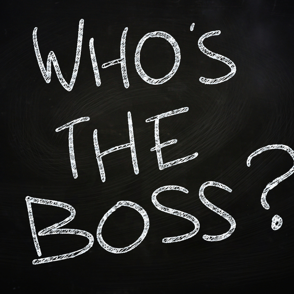 Whos the boss blog pic